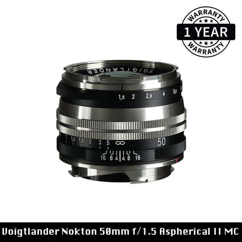 Voigtlander Nokton 50mm f 1 5 Aspherical II MC Lens