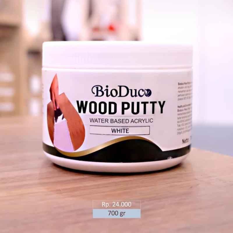 dempul kayu waterbased bioduco woodputty putih m