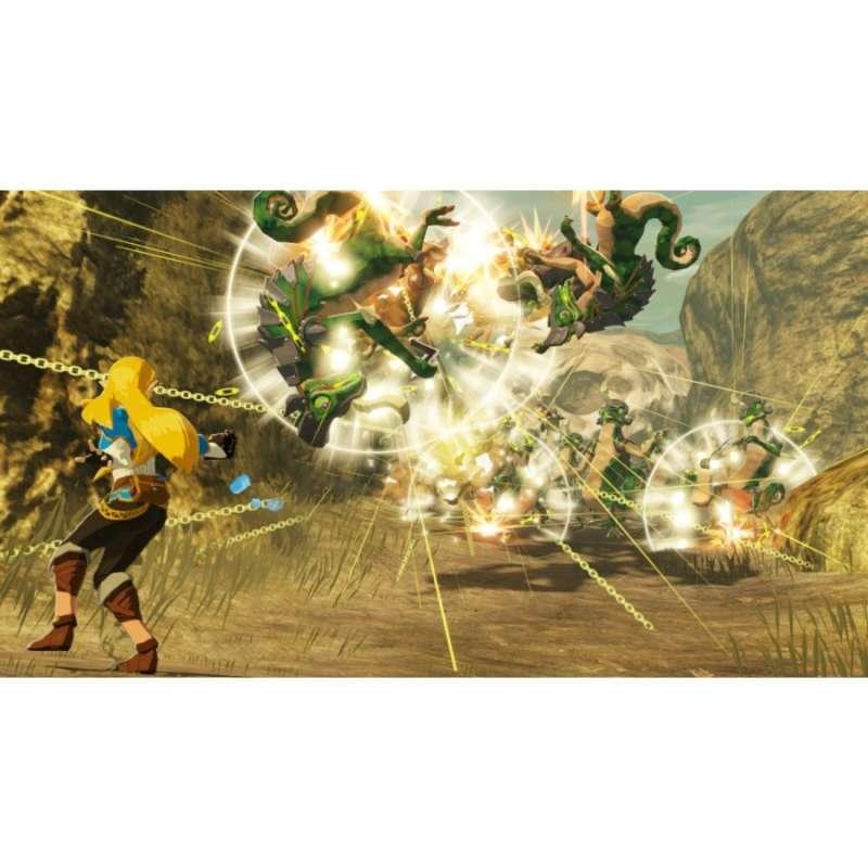 Jual Nintendo Switch Hyrule Warriors Age Of Calamity Online Januari 2021 Blibli
