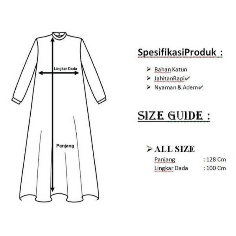 Jual Dress Gamis Wanita Adem Dan Nyaman Online Maret 2021 Blibli