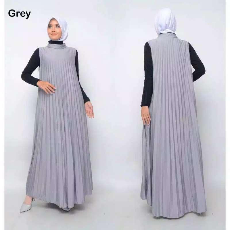 Jual Gamis Plisket Gamis Muslim Gamis Maxi Plisket Pakaian Wanita Online Februari 2021 Blibli