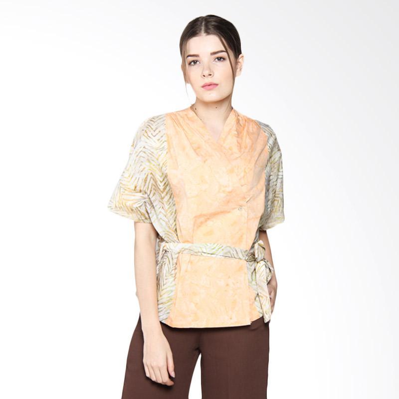 Debra Lunn DLWBL0146 BLPD Cap Kimono Zebra Chevron - Ochre