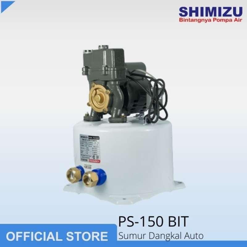 Jual Shimizu Ps 150 Bit Pompa Air Sumur Dangkal Auto 150 Watt Online Maret 2021 Blibli
