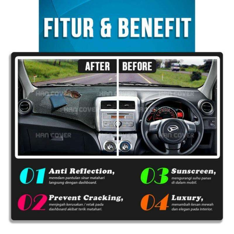 Jual Han Cover Dashboard Chery Qq Antislip Airbag Cover Dashboard Mobil Online Maret 2021 Blibli