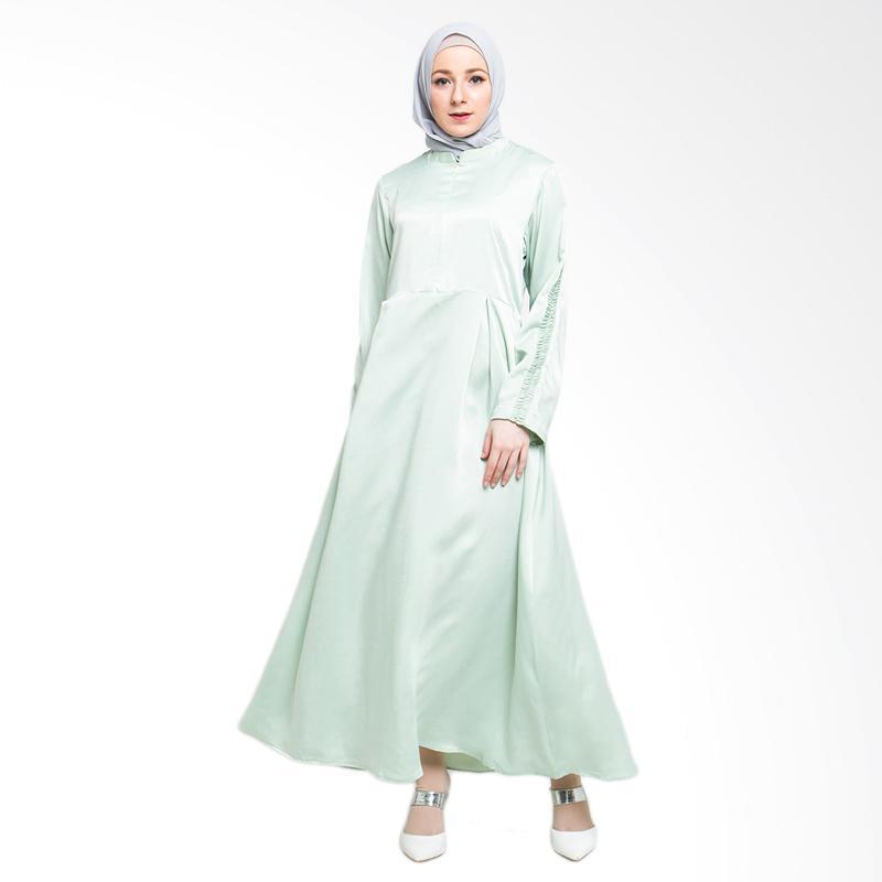 Allev Arina Dress Muslim - Hijau Pastel