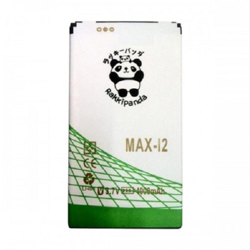 RAKKIPANDA Double Power & IC Battery for Andromax Max I2
