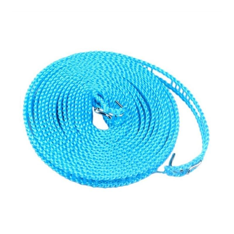 Solidexshop Hanger Tali Jemuran Serbaguna Super kuat - Biru [5 meter]