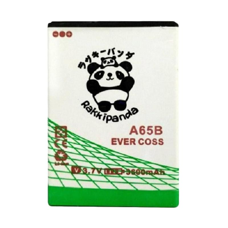 RAKKIPANDA Double Power IC Battery for Evercoss Winner X3 A65B