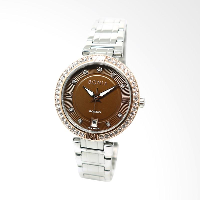 Bonia BNR106-2343S Jam Tangan Wanita - Silver