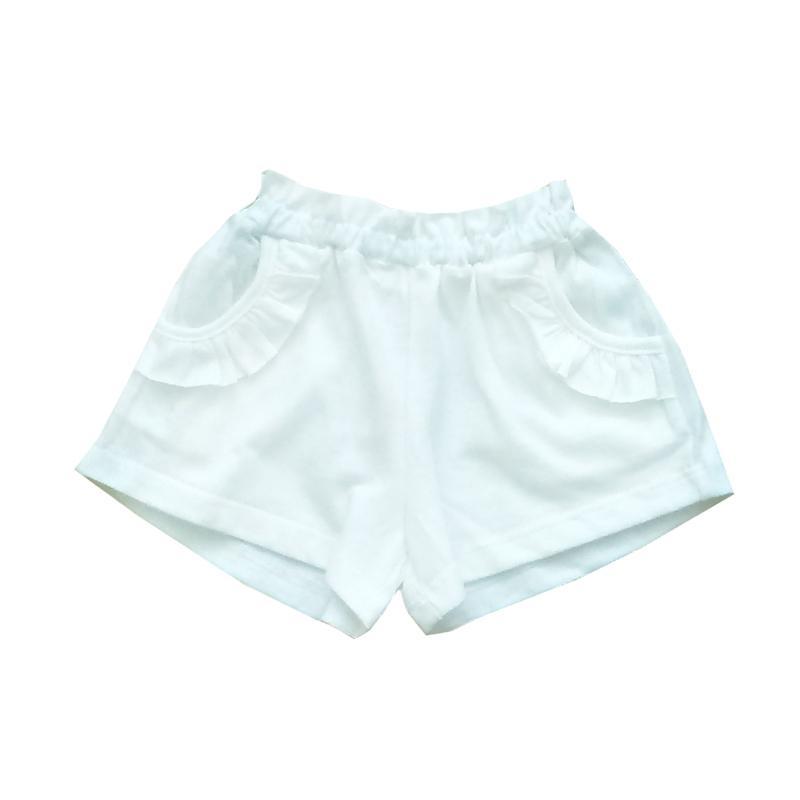 PLEU Celana Pendek Girl - Putih