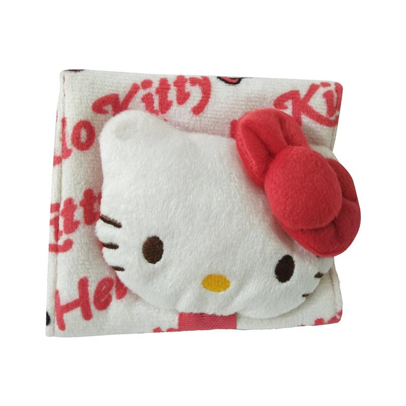 Hello Kitty Red Ribbon Tempat Pembalut - White Red