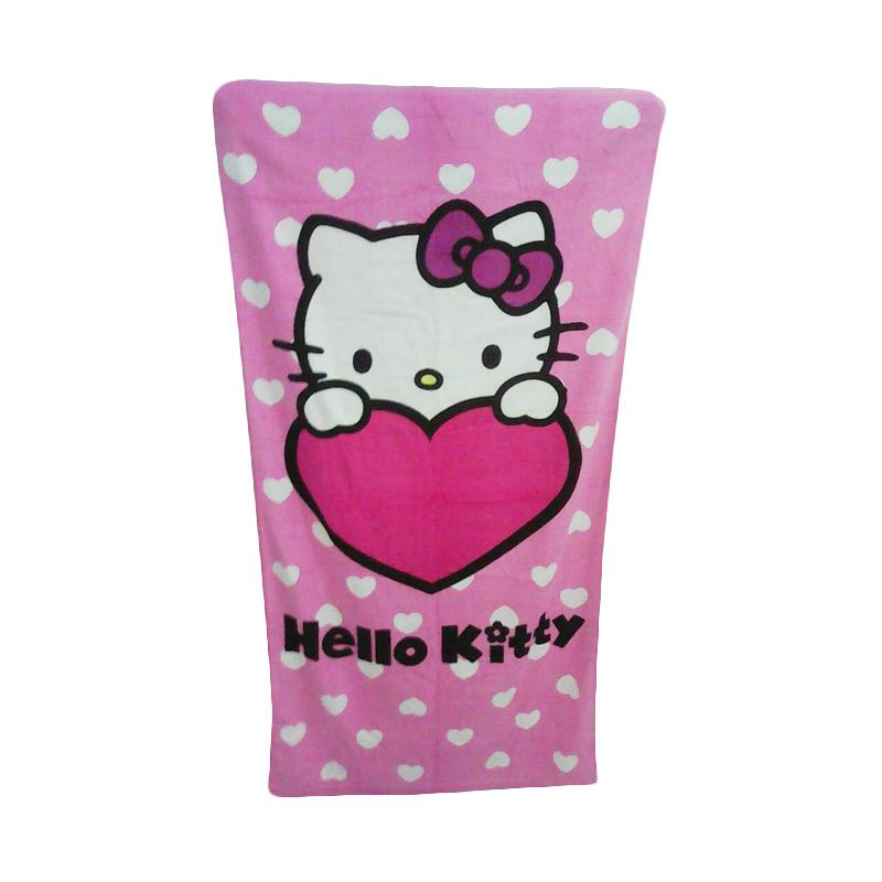 Hello Kitty Love HK Handuk Mandi [70  x 140 cm]