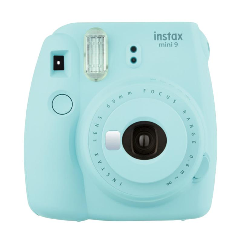 Fujifilm Instax Mini 9 + FREE PAPER INSTAX Instant Film Camera - Ice Blue