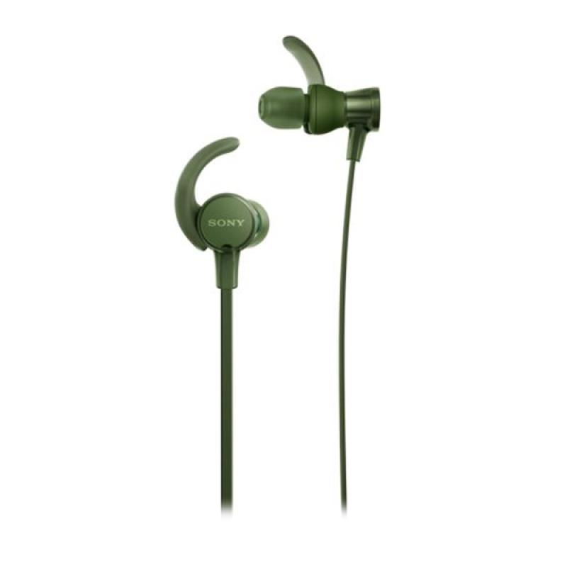 SONY MDR-XB510AS Extra Bass Sports In-ear Headphones - Green