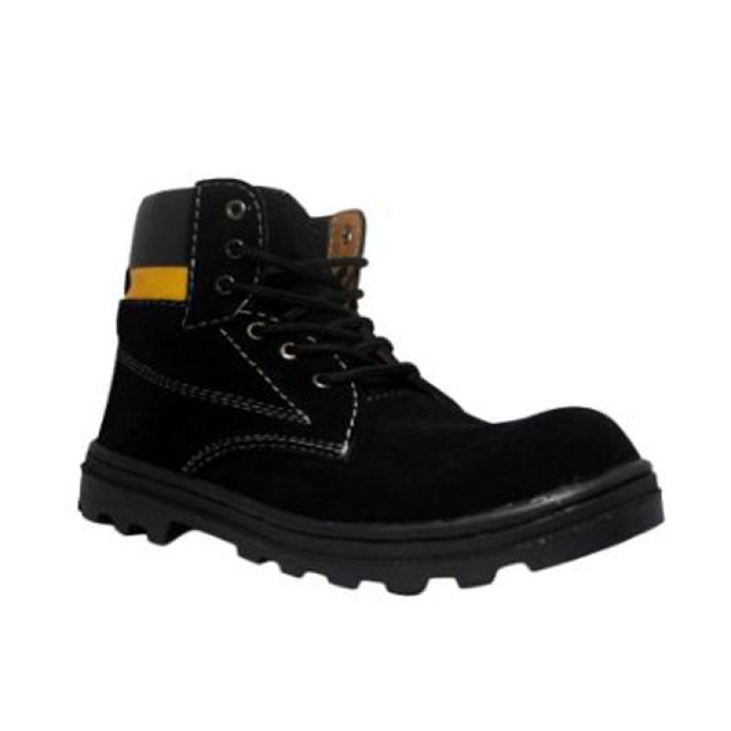 Cut Engineer Sepatu Pria - Hitam