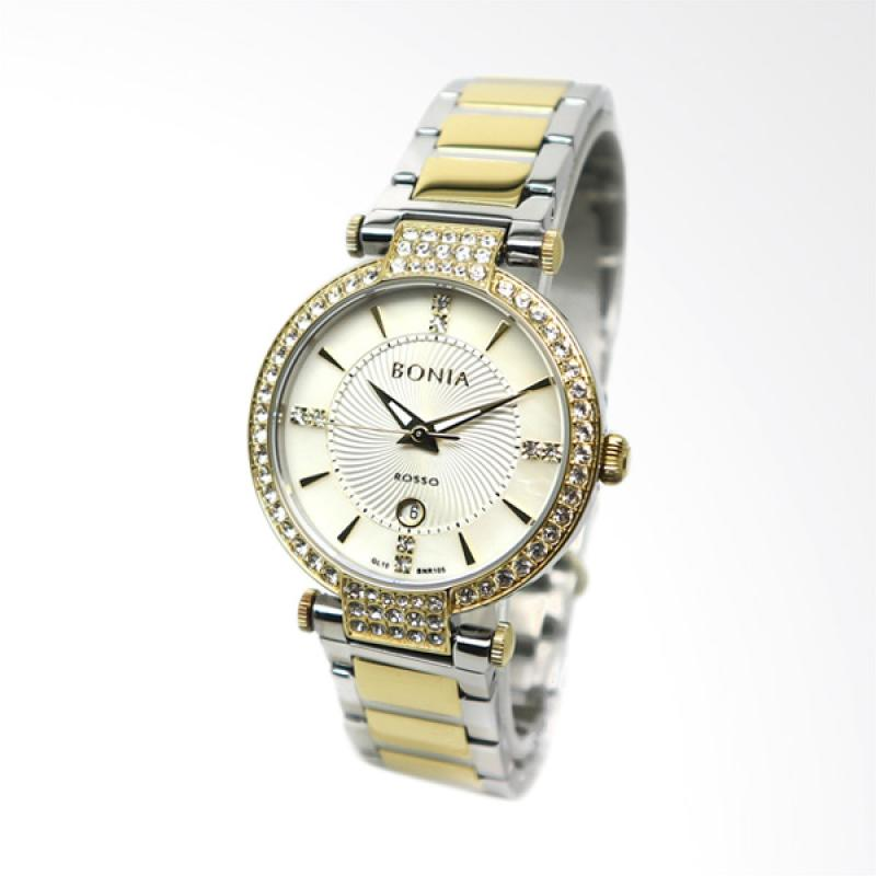 Bonia BNR105-2152S Jam Tangan Wanita - Silver