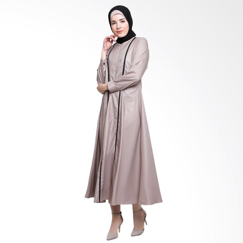 Allev Mahira Abaya Baju Muslim - Cream