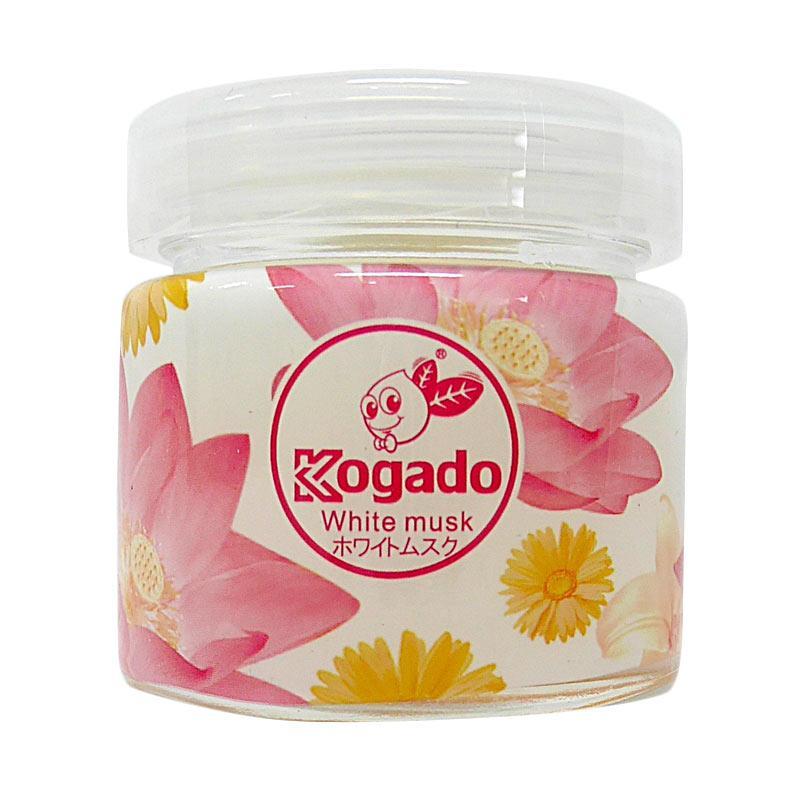 KOGADO FLOWER TIME, WHITE MUSK PARFUM MOBIL - CAR AIR FRESHENER