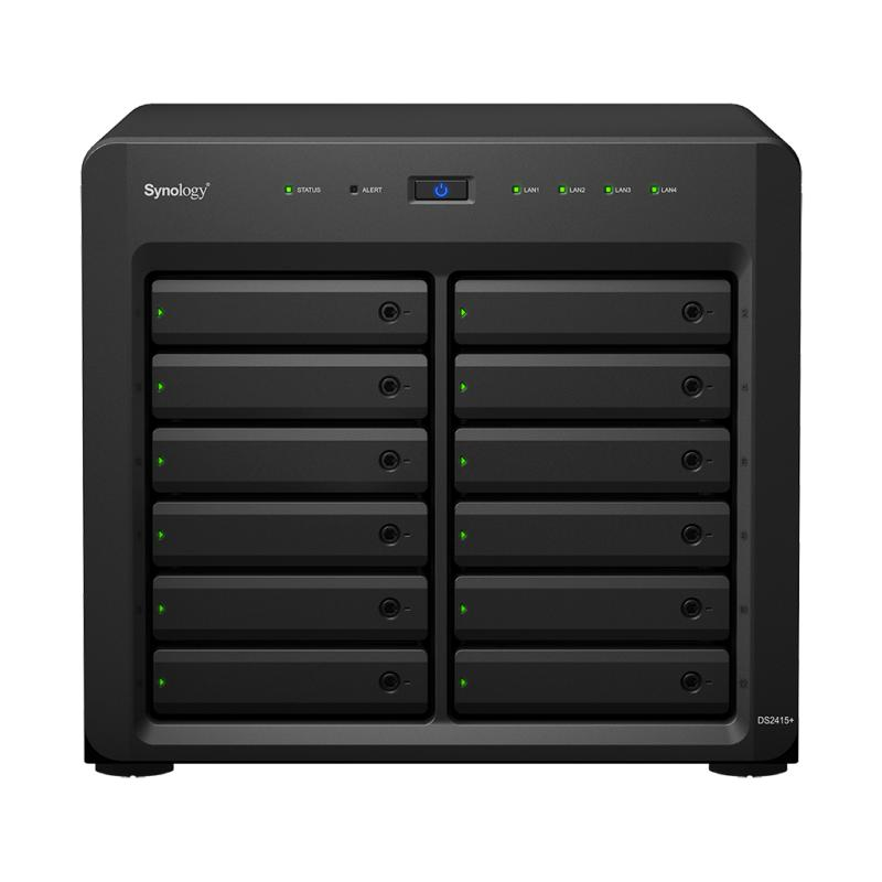 Synology DS2415+ DiskStation 12-Bay NAS Server External Storage