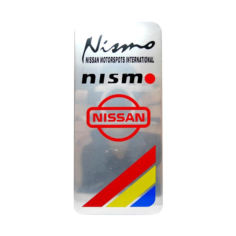 SIV EMB-P03 Emblem Universal Plat Nomor Mobil Nismo Dan Logo Nissan