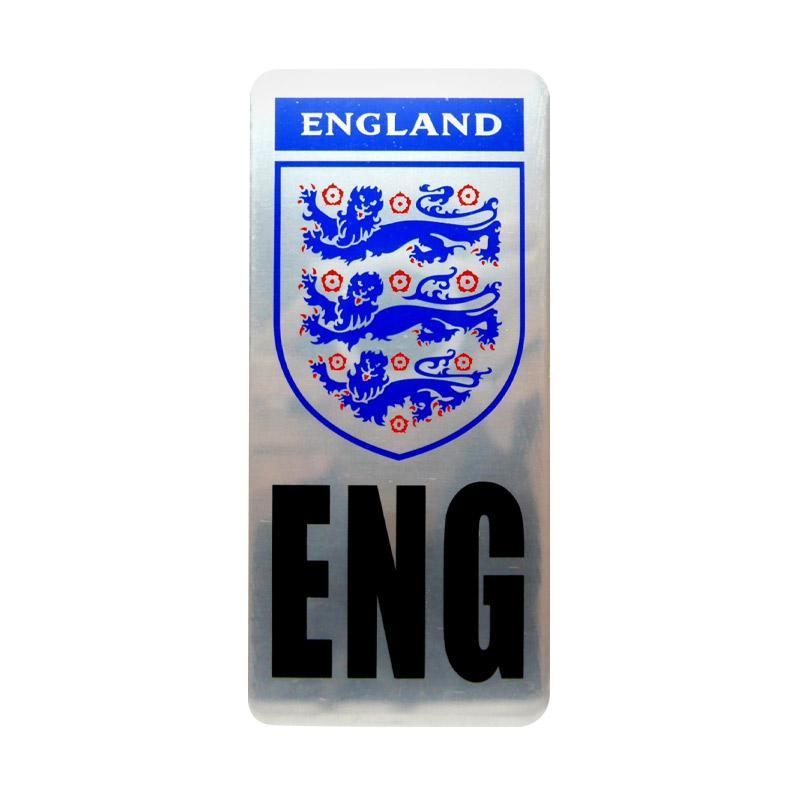 SIV EMB-P09 Klub Bola England Emblem Plat Nomor Mobil