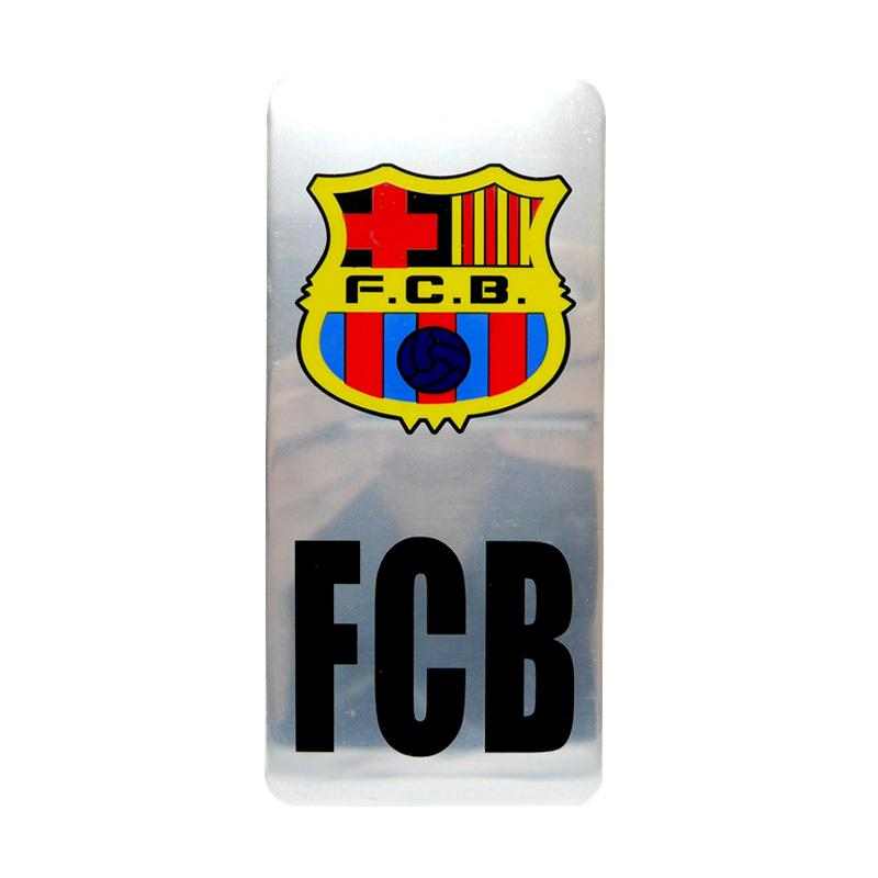 SIV EMB-P12 Barcelona FCB Emblem Plat Nomor Mobil