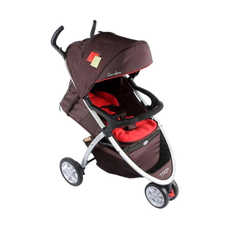 Cocolatte CL 904 Trip Baby Stroller Kereta Dorong - Red