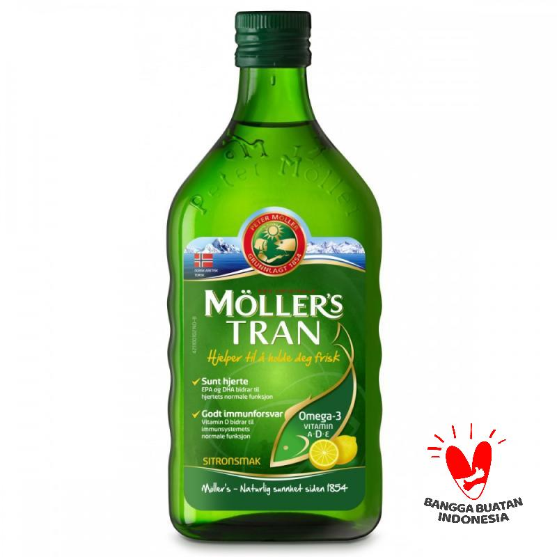 Moller's Tran Cod Liver Oil Lemon Multivitamin [250 mL]
