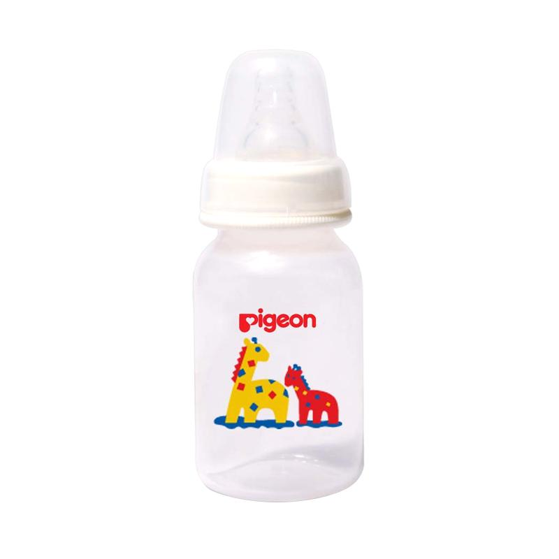 Pigeon Slim Neck PP RP Bottle with Silicone S Nipple - Giraffe [120 mL]