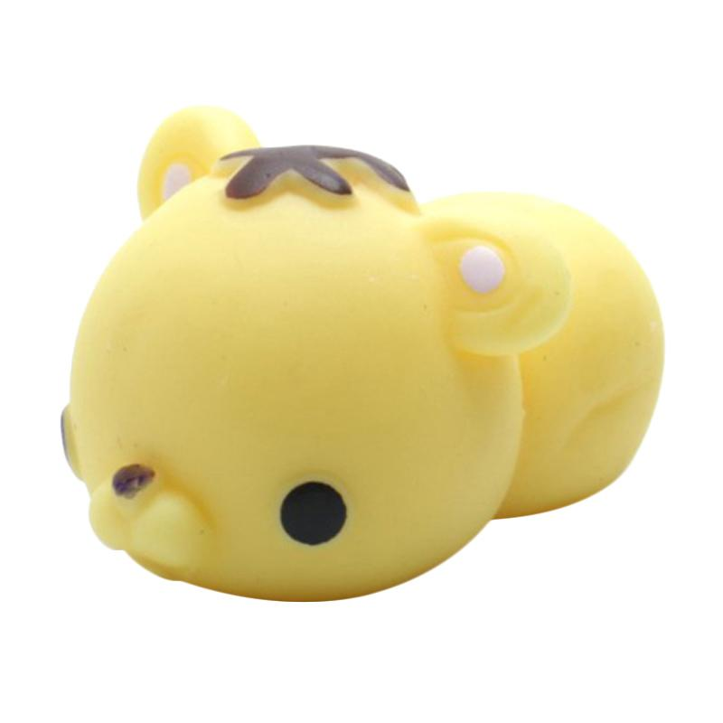 MoniMoni Squishy Scented Original Korea Tiger Mainan Anak - Yellow