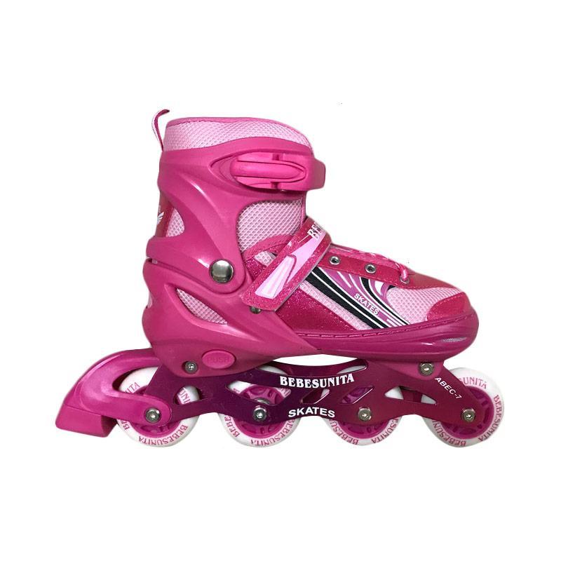 harga Allsportinggoods Sepatu Roda Bebe Skate - Pink Blibli.com