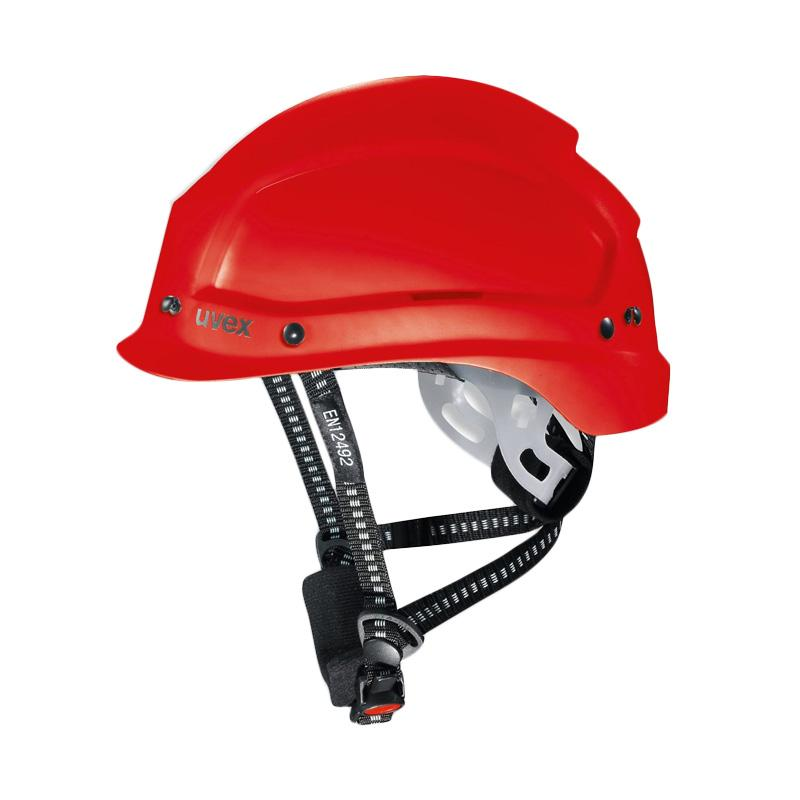 Uvex Safety Helmet / Helm Safety / Perkakas Keselamatan 9773350 - Red