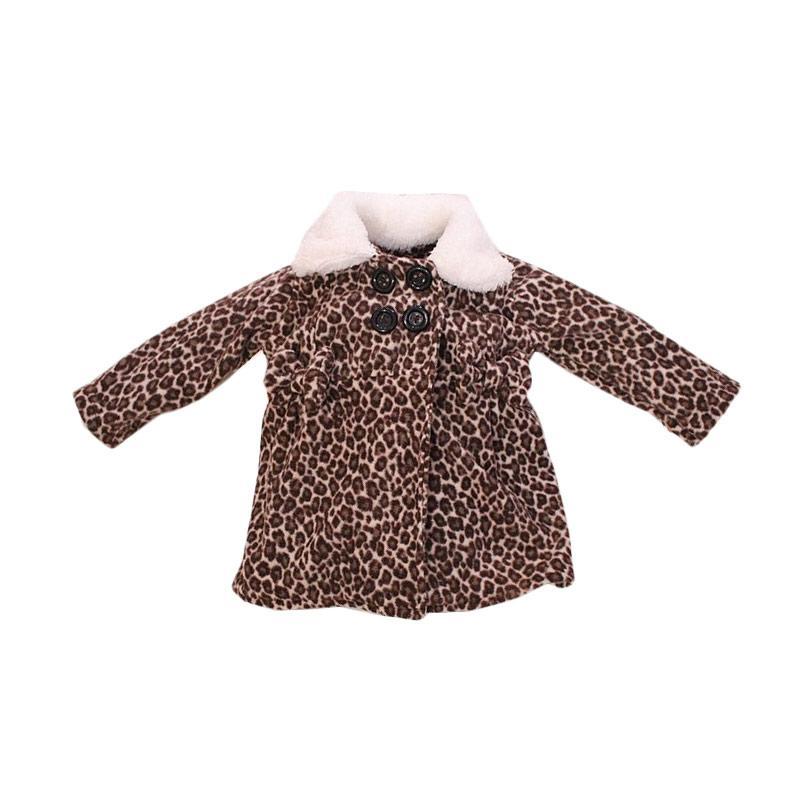Bibbo Baby Blazer Leopard Bold Jaket Bayi Perempuan
