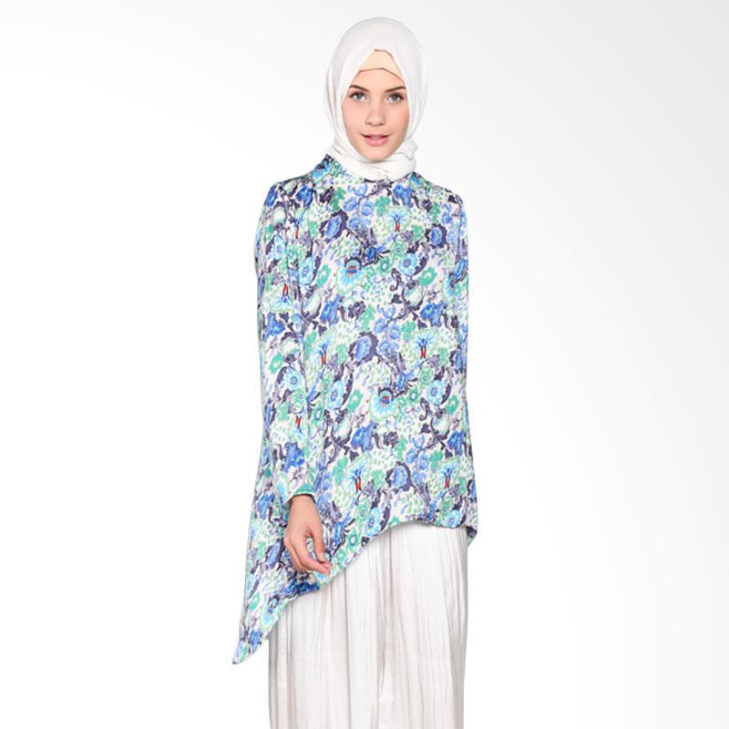 Rauza Rauza Shanti Top Atasan Muslim - Multy Print Flower