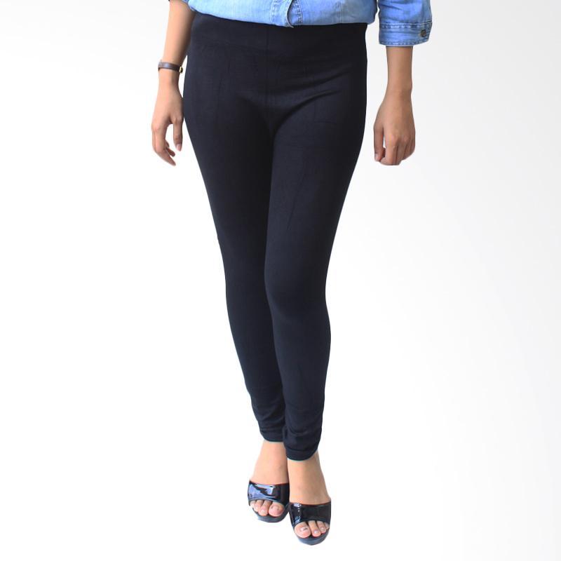 Aily 930 Celana Legging Wanita - Hitam