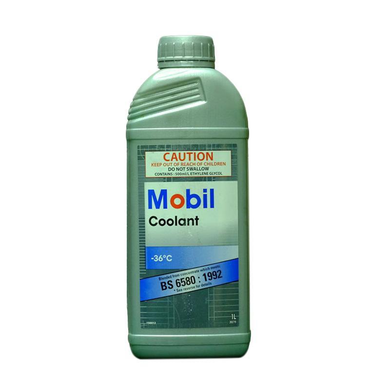 Mobil Ready Mixed 36��C Coolant Cairan Pendingin Mesin