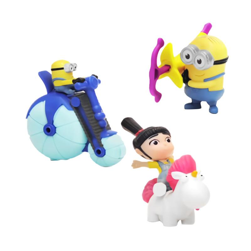 McDonalds Happy Meal Despicable ME3 Minion Set Boneka Kolektor [Periode III Edisi 14 Juli 2017]