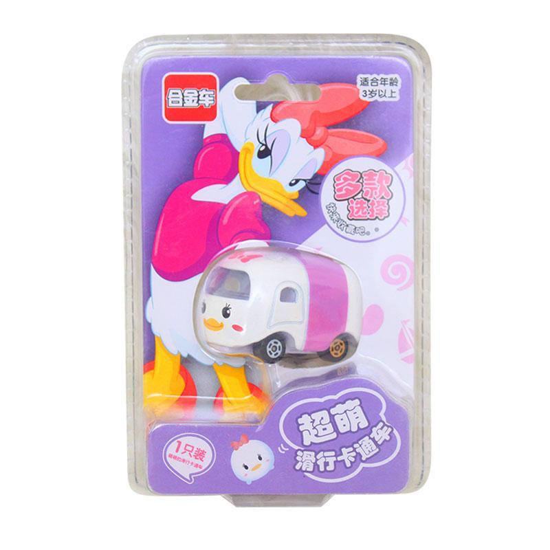 Istana Kado IKO00805 Karakter Tsum Tsum Car Mickey Mainan Mobil Diecast