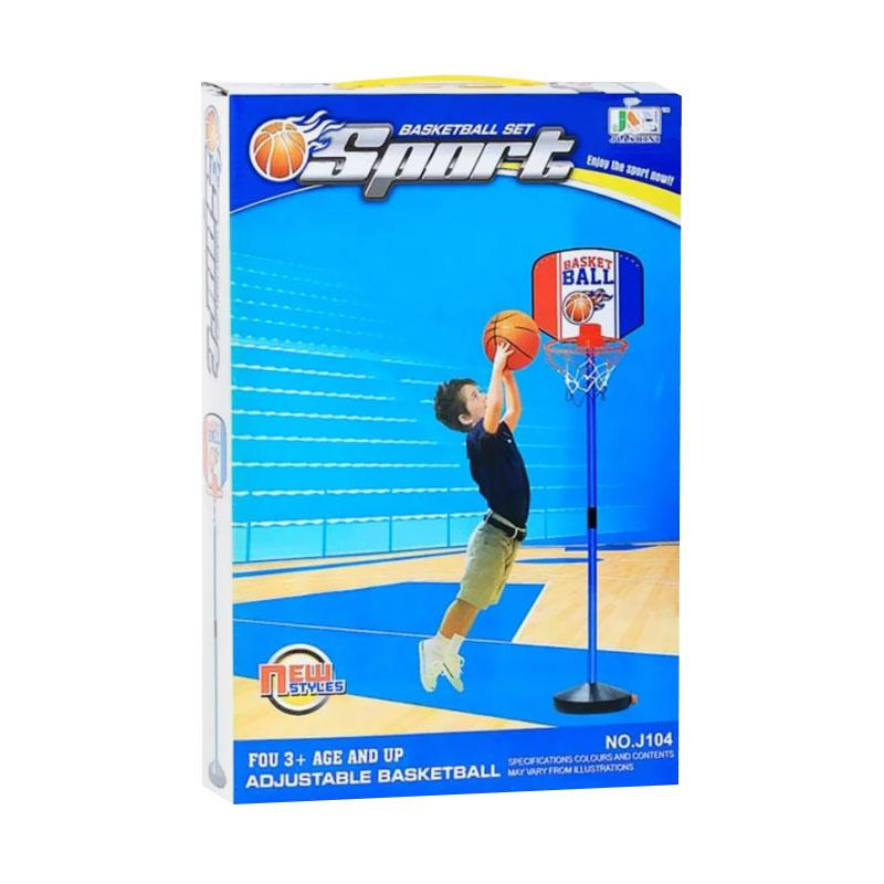 Momo Toys J104 Basketball Set Mainan Bola Basket Anak