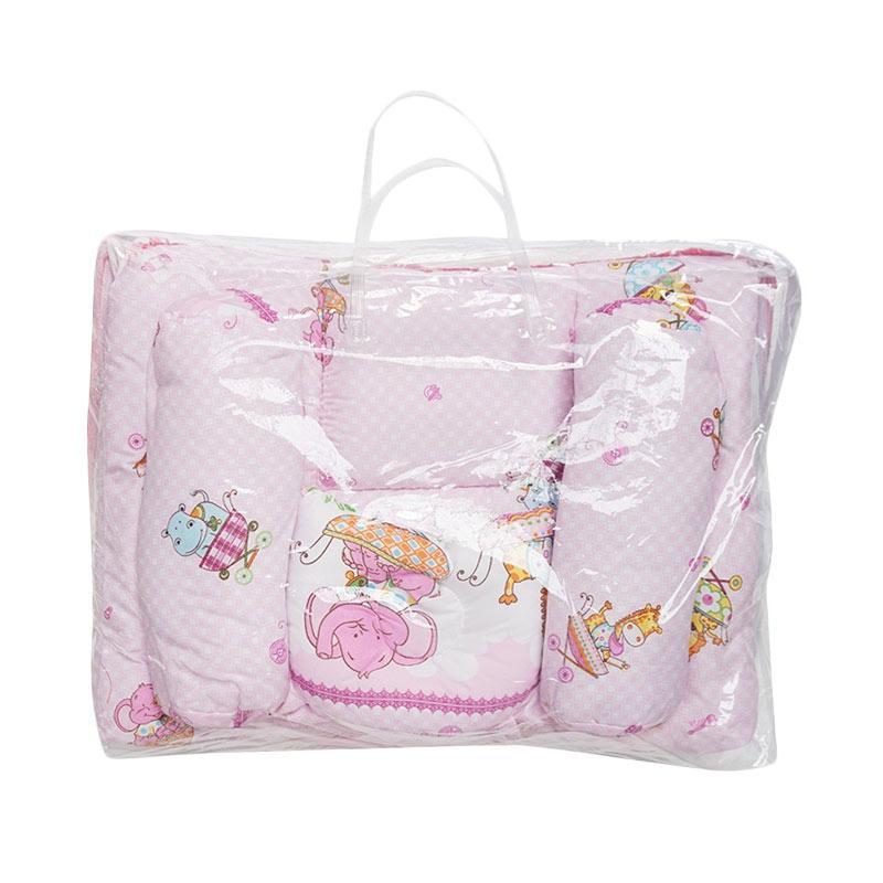 Cintaka Animal Kasur Bayi Kelambu - Pink