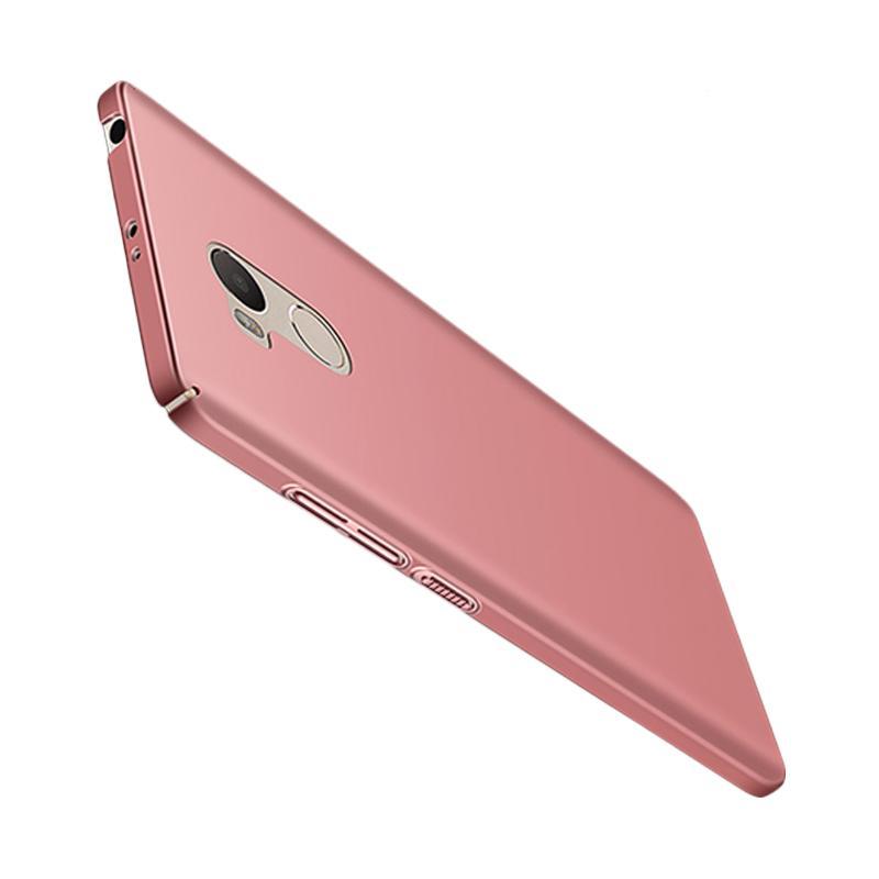 WEIKA Baby Skin Ultra Thin Hardcase Casing for Xiaomi Redmi 4 Prime - Rose gold