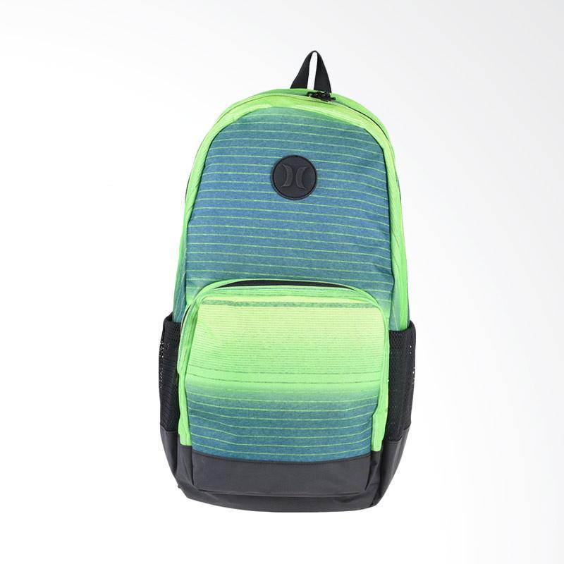 Hurley Renegade Printed Bag Tas Pria - Citron Green Black ZQ050_319