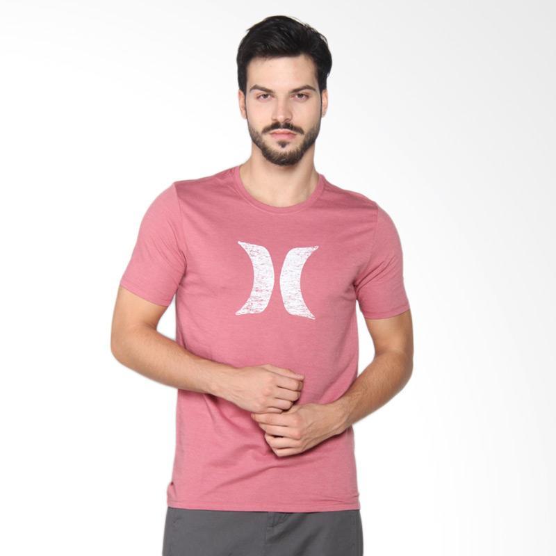 Hurley Icon PT T-Shirt Kaos Pria - Cedar Heather AMTSICPT 61LH