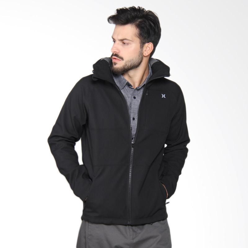 Hurley Heat Thermafit Fleece Jacket Pria - Black MFT0007400 00A