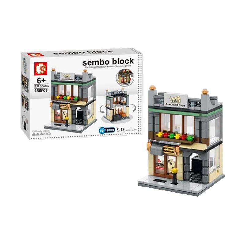 Sembo Sd6535 Ass Press Mini Blocks Mainan Anak