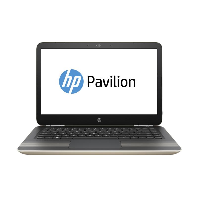 HP Pavilion 14-AL169TX Notebook - Gold [Core i5-7200U/2GB VGA/14 Inch Touchscreen/Windows 10]