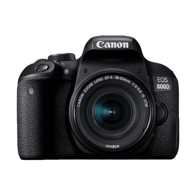harga Canon EOS 800D WIFI 18-55 IS STM KIT Kamera DSLR Ladang Elektronik Blibli.com