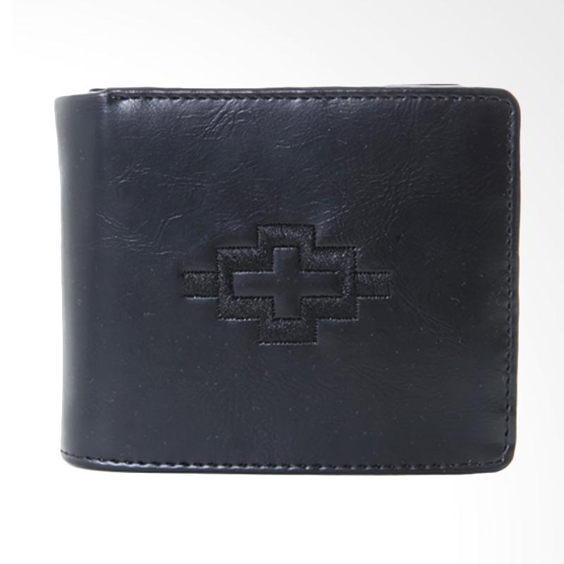 Tendencies Ethnic Icon Black Wallet Dompet Pria - Hitam