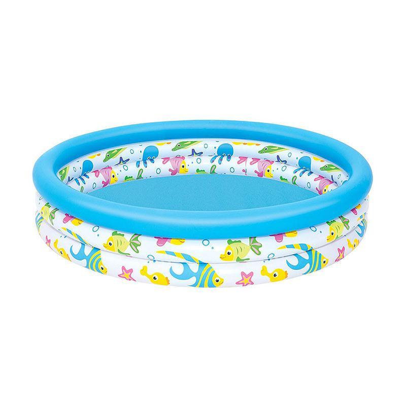 Bestway 51009 Coral Kids Pool Kolam Renang Anak Biru 122 cm
