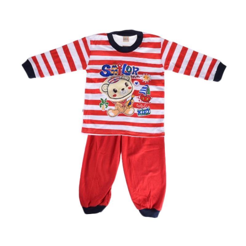 harga Jolly Be St3182C3 Sailor Setelan Baju Anak - Red Blibli.com